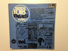 DISQUE 33T AMERICAN FOLK BLUES FESTIVAL 1963