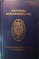RARE 1999 NATIONAL SOJOURNERS,INC MASONIC/MILITARY MEMBER DIRECTORY EXCELLENT