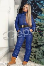 Neu Damen Ski Anzug Winter Overall XS S M L Made in EU Aktuelle Kollektion-9810