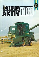 Farm Combine Brochure - Overum - AKTIV 1130 - SWEDISH language (F4871)