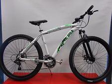 bici bicicletta mtb 27,5'' alluminio freni a disco bianca