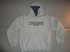 Gray Hard Rock Cafe Las Vegas Hooded Hoodie Sweatshirt Fits Adult M NICE COOL