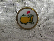 Augusta National Masters Tournament Undated Single Peg Back Ball Marker
