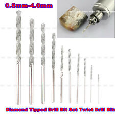 Newest 10Pcs Diamond Tipped Drill Bit Set Twist Drill Bits For Glass Tile Stone