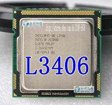 Free shipping Intel Xeon L3406 2.26 GHz Dual-Core Processor LGA 1156 CPU