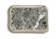 Contact Lens Case with Blace Lace and Flowers design