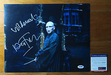 Ralph Fiennes signed auto autograph 11x14 photo Quote Harry Potter PROOF PSA