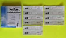 Lot of 10 Disposable Thermometers Bug Out Bags First AID Emergency Prepper EMP