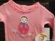 NWT/Babies R Us Infant Girls Outfit/0-3 Mos/SWEET/Doll/Pink Brand New/Super Cute