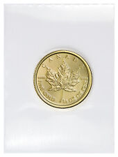 2017 Canada $10 1/4 Oz Gold Maple Leaf (Sealed in Mint Plastic) PRESALE SKU44195