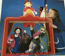 SEWING PATTERN Jean Greenhowe 6 Puppets For Pantomine Toys Aladdin Genie RARE