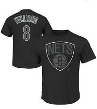 Majestic Deron Williams Brooklyn Nets Color Pop T-Shirt Medium - Black