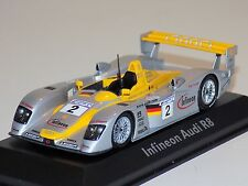 1/43 Minichamps Audi R8 Infineon car #2 24 Hours LeMans 2001 Team Joest Dealer