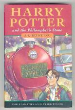 HARRY POTTER and the PHILOSOPHER'S STONE. UK 1st HB/HC JK ROWLING Bloomsbury.