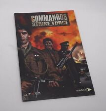 Commandos Strike Force Manual de instrucciones ps2 playstation 2