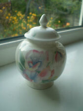 Aynsley Little Sweetheart Lidded Jar Small 1st Quality Bone China Pink British