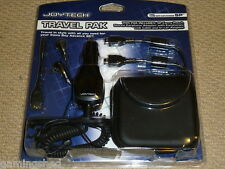 NINTENDO GAMEBOY ADVANCE SP ACCESSORY PACK - NEW! CONSOLE CASE CAR CHARGER LINK
