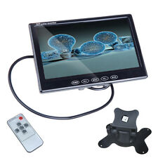 """Remote Control 7"""" TFT LCD Rear View Color Monitor For Car Reverse Backup Camera"""