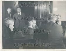1936 Gangster Tommy Terrible Touhy on Trial Chicago Press Photo