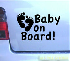 Baby on Board Aufkleber xl Baby Autoaufkleber kids on board on bord Sticker 342