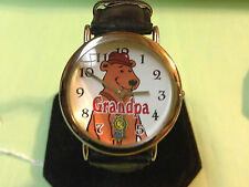 Collectible Grandpa watch by Dingbats,rarely worn condition,detailed dial   C162