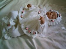"KNITTING PATTERN BABY 0-3 MONTHS OR REBORN DOLL 19""-21"" Patt 4"