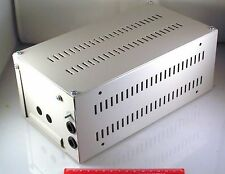 Mild Steel Project Power Supply Box 270x145x107mm Electronic Electrical  OL
