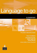 Language to Go: Elementary Resource Book by Simon Le Maistre (Paperback, 2002)