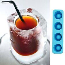 4er Set Eiswürfelform Eispinchen eisglas eiswürfel silikon schnapsglas eisshot