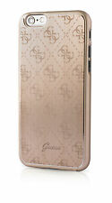GUESS 4G Colección De Aluminio Placa de Oro Duro Funda Para Apple iPhone 7 Plus