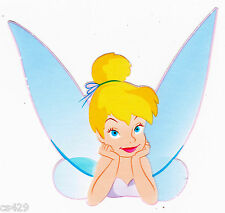 "5"" DISNEY TINKERBELL FAIRY  CHARACTER PREPASTED WALLPAPER BORDER CUT OUTS"