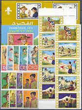 Pfadfinder, Scouts, Jamboree - Fujeira - LOT ** MNH 1970