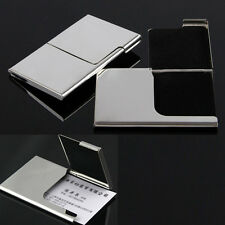 2* LOT PERSONALIZED BUSINESS CARD HOLDER SHINY CREDIT ID CARD WALLET CASE PURSE