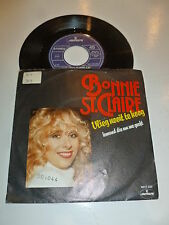 "BONNIE ST. CLAIRE - Wieg Nooit Te Hoog - 1981 Dutch 7"" Juke Box Vinyl Single"