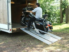 Aluminum Ramp 7 ft.- Motorcycles Onto Trailers - USA Ramps