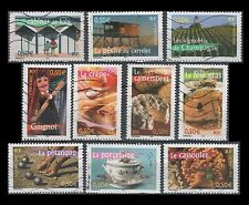 France 2946a-j Aspects of life in French regions (10 USED Stamps from sheet)