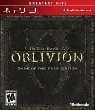 The Elder Scrolls IV: Oblivion: Game of the Year Edition [PS3 Playstation 3] NEW