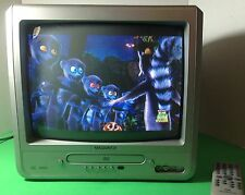 """Magnavox MWC13D6 13"""" TV DVD Player Monitor Television Combo With Remote works"""