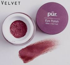 Pur Minerals Eye Polish in Velvet - Eye Base Plus Silicone Application Tool