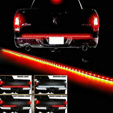 "Waterproof 60"" Tailgate LED Strip Bar Truck Reverse Brake Turn Signal TailLight"
