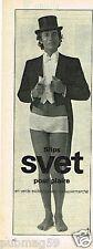 Publicité advertising 1973 Sous Vetements slip homme Svet