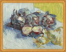 Red cabbages and onions Vincent van Gogh Knoblauch Zwiebeln Knollen B A2 03395