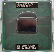 Intel Core 2 Duo T9600 (SLG9F) 2.8 Ghz PGA 478 Penryn Laptop Processor
