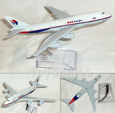 Malaysia Airlines MAS Kargo Boeing 747 Airplane 16cm DieCast Plane Model