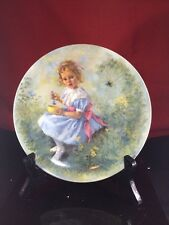 Little Miss Muffet Collector Plate by John McClelland  Mother Goose Series w/coa