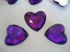 Scatter Table Confetti/Decorations/Gem/Crystal/Diamond 12mm Heart shaped Wedding