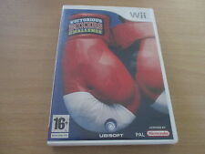 jeu wii victorious boxers challenge