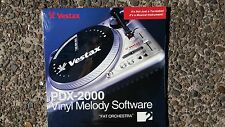 Vestax  PDX2000 TURNTABLE VINYL MELODY SOFTWARE No 2