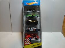 Hot Wheels 5 Car Gift Pack X-Games w/Exclusive Black Mitsubishi Lancer