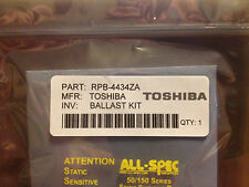 TOSHIBA Lamp Ballast Repair Kit RPB-4434ZA 23122468 D4434M-01 (upgraded kit)